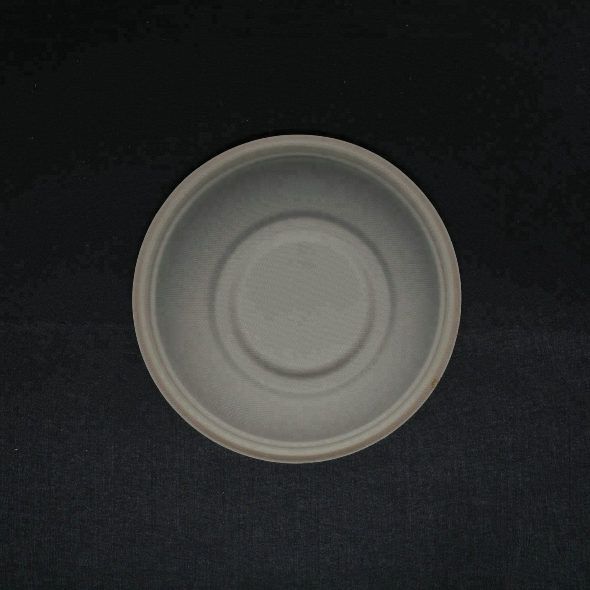 Eco friendly biodegradable 12 OZ  350ml compostable bagasse  paper pulp  soup bowls supply to hotel and restaurant