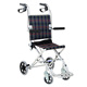 Light hand push type small wheelchair suitable for the elderly