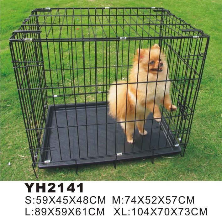 ผลิตขายที่กำหนดเองเหล็กเหล็กสัตว์เลี้ยงสุนัขบ้าน