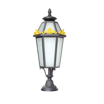 Small Victorian Style Outside Lamp Post Top Light Lantern Garden Pillar Rht 13325 View Kainuo Product Details From Zhongshan City
