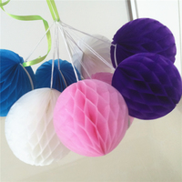 Wholesale Tissue Paper Craft Honeycomb Ball Decorations