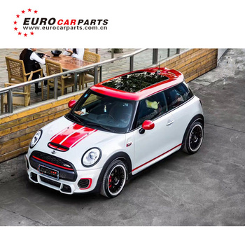 hot sale pp body kit fit for mini cooper r56 to r56 s jcw style 2012