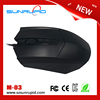 High quality best cheap standard USB optical wired mouse