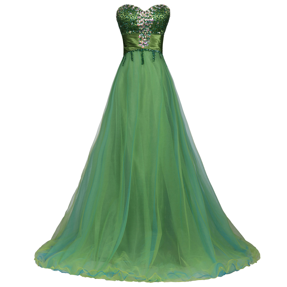 Buy Elegant Grace Karin Tulle Beaded Sweetheart Dubai Prom Dress ...