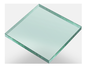 "1/2"" clear toughened glass for balcony custom-made china factory"