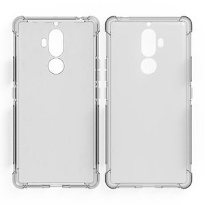 2017 New Transparent Shockproof Tpu case for Lenovo K8 Note clean soft cover case