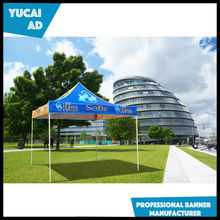 Custom polyester fabric printing pop up tent canopy