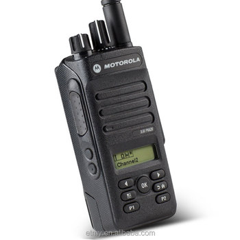 2017 Motorola High Quality Walkie Talkie Xir P6620 Dual Band Vhf&uhf  Digital Two Way Radio - Buy Motorola Handheld Vhf Uhf Radio,Motorola Walkie