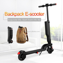 healty and fashion 2wheels backpack electric scooter, mini smart E-scooter