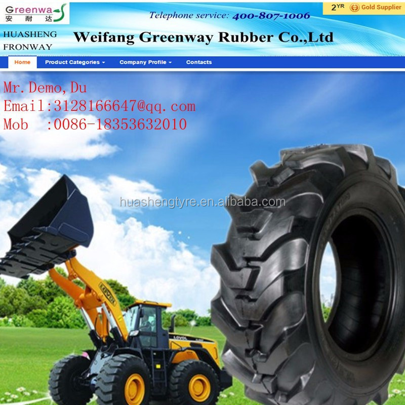 Hot Sale!!!china Factory Nylon Farm Tyre Agricultural Tire 19.5l ...
