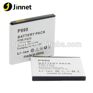 high competitive price Mobile Phone Battery P920 P990 P925 Thrill 4G For LG gb t18287