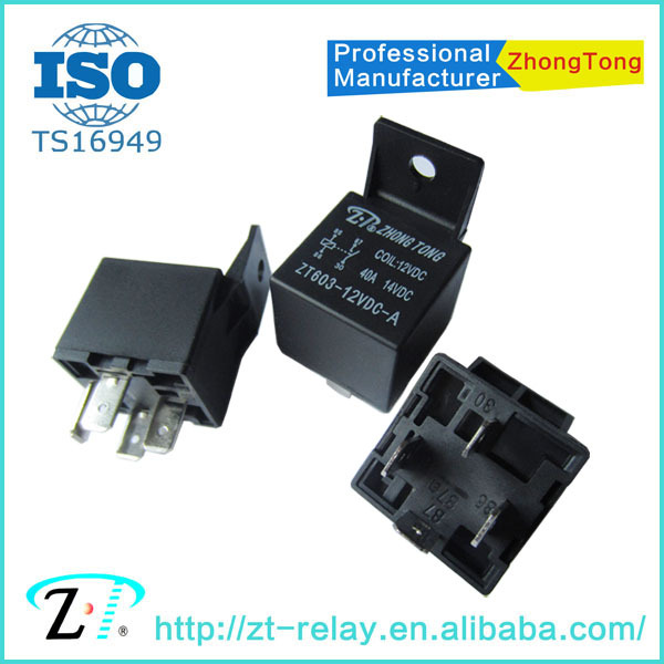 O branchez-par tyco Premium qualité automobile relais 12V 40AMP 4pin N te