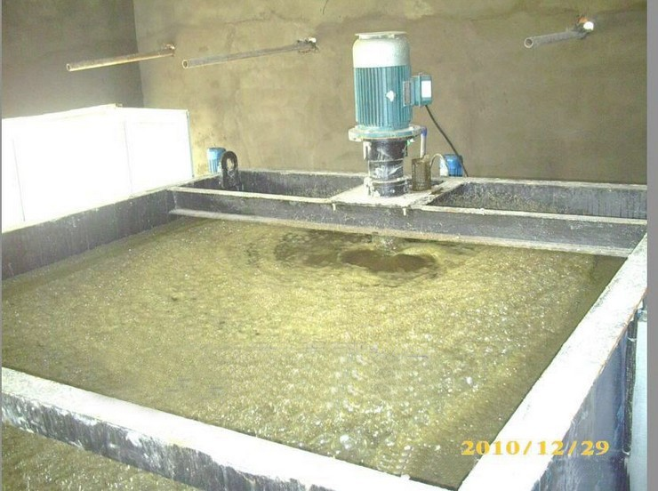 With Flocculation and Coagulation Dissolved Air Flotation units for Solid Liquid Separator in Waste Water treatment