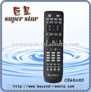 remote control for new star max satellite receiver