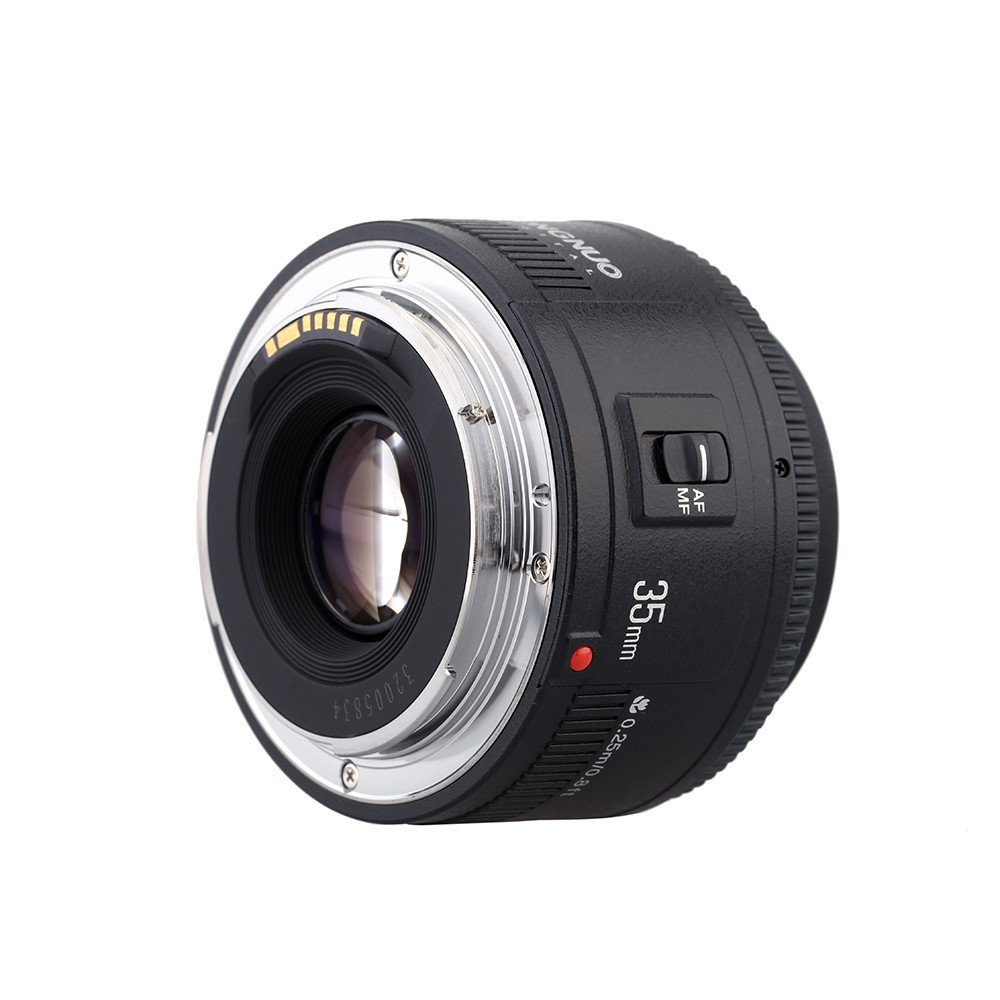 Yongnuo Yn35mm F2 Lens 1:2 Af/mf Wide-angle Fixed/prime Auto Focus ...