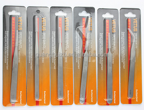 Jewelry Gem Diamond Prong Tweezers Pickup Tools