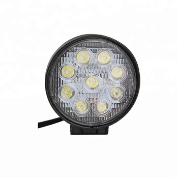 12v led tractor light 4x4 offroad working lamp spot flood 27w led work light for cars motorcycle atvs