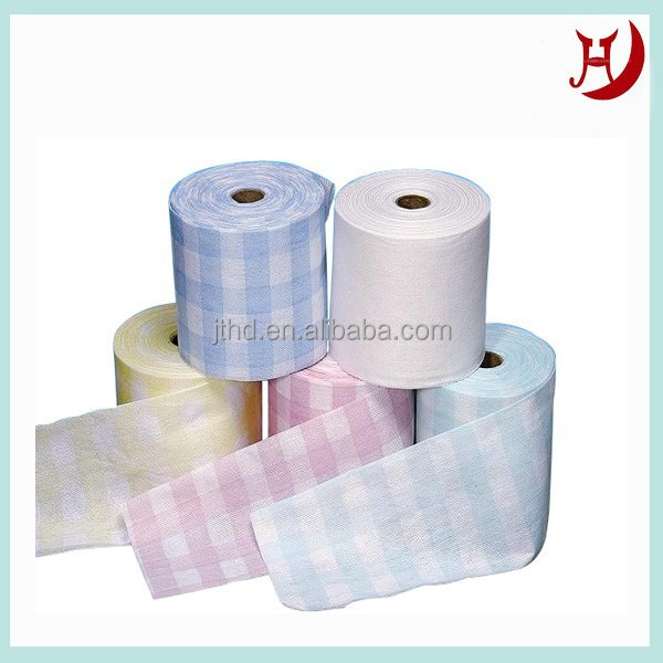 Beautiful spunlace nonwoven gift wrapping paper
