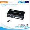 seamless matrix switcher 4 in 2 out Routing HDMI Matrix Support 3D and 1080p Matrix