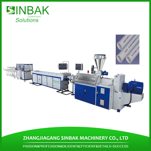 Golden supplier pvc resin pipe making line/machine