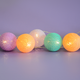 Wedding Party String Lights Colorful Led Cotton Ball Battery light