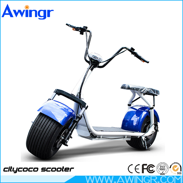2017 fashion design citycoco 1000w 60v electric harley two seats mobility scooter
