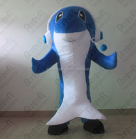 hot sale cartoon dolphin mascot costumes