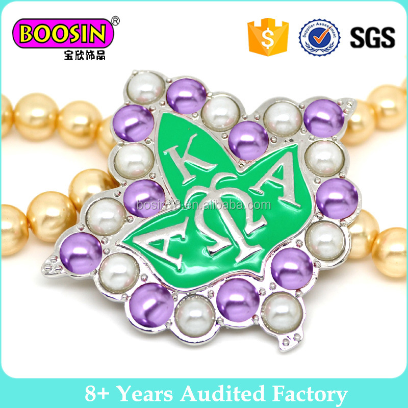 Jewelry Cheap white glass pearl brooth 2017