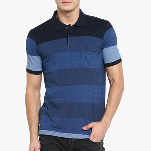 New promotion men's casual work polo shirt