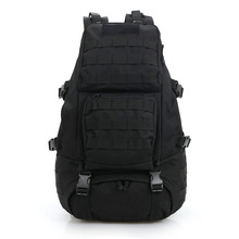 Black 911 Waterproof Camo Tactical Slig Backpack