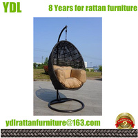 Youdeli Rattan Garden hanging chair resin patio furniture