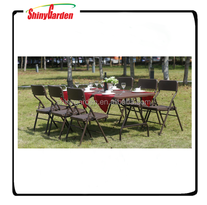 Plastic Outdoor Folding Table And Chairs Cheap Dining Table And 4