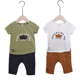 China Supplier Costume Boys Boutique Outfits sets Boy Summer Kids Clothing Set with Wholesale