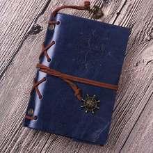 1 шт. блокнот на спирали, дневник, книга, винтажные Пираты, якоря, искусственная кожа, блокнот, сменный рождественский подарок, Дневник для пу...(Китай)