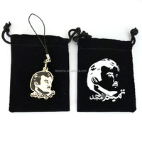 Festival Gift Qatar National Day Amir Charms Phone Strap with Velvet Bag