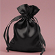 Satin Drawstring Jewelry Pouch & small drawstring pouches & indian jewelry pouch