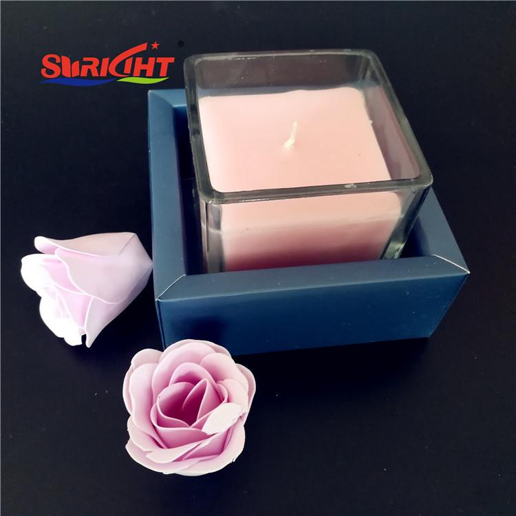 Where to Buy Colored Promotional Cheap Stock Glass Holder Candle