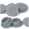 China new design popular customized butyl rubber stopper for injection vial