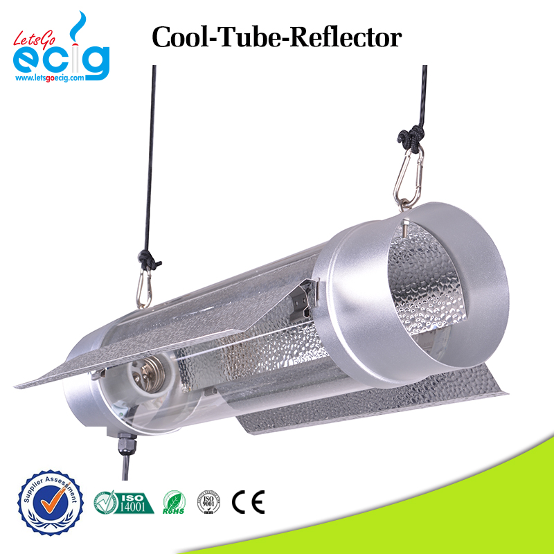 Quality assured double ended metal air cooled reflector for grow tent