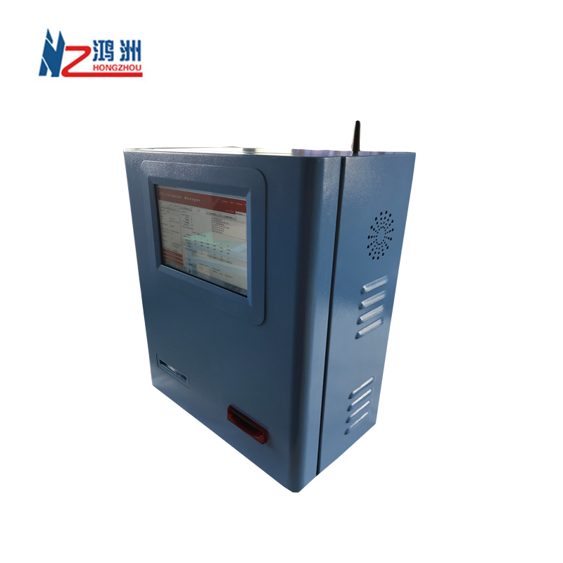 Bill payment wall mounted kiosk with card dispenser kiosk with printer