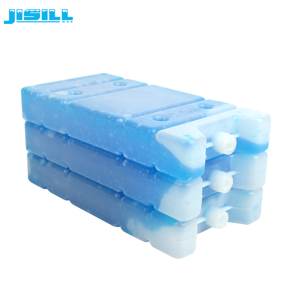Food Grade HDPE 350g hard shell Vriezer plastic gel ice pack voor koeltas
