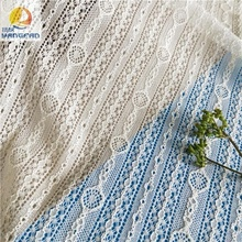 Cord white lace fabrics wholesale for wedding
