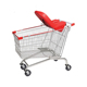 125L Supermarket Electric Shopping Trolley Cart Folding Shopping Trolley with Seat