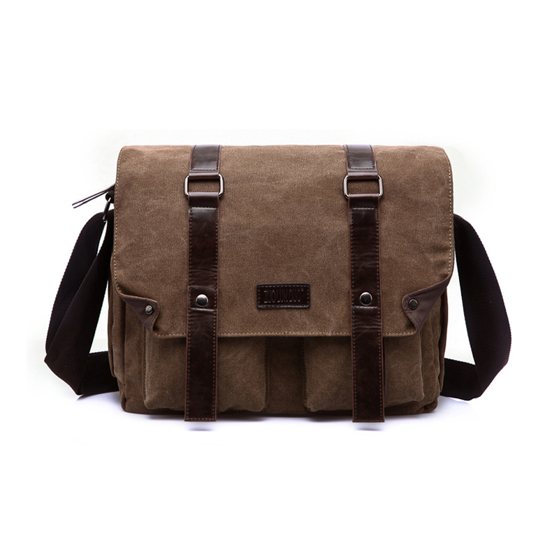 Canvas sling 크로스 바디의 shoulder bag 16 oz 대 한 men 빈 키 빈 canvas 어깨 messenger bags 도매