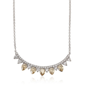 43731 Xuping collar necklace, Crystals from Swarovski fashion Indian gold jewelry