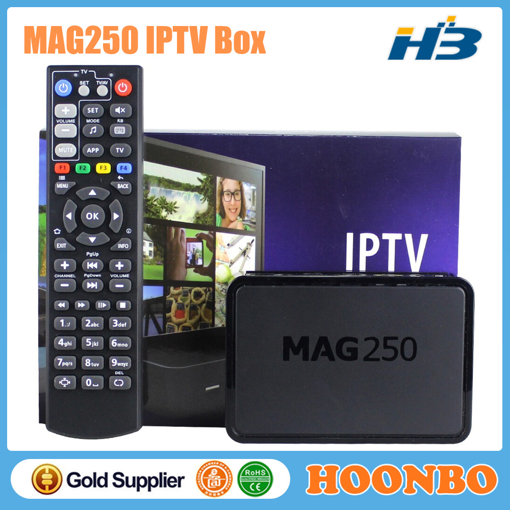 Mag 250 With Strong Wifi Signal One Year Subscription Free TV