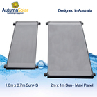 2m * 1m Swimming pool solar panel for sale