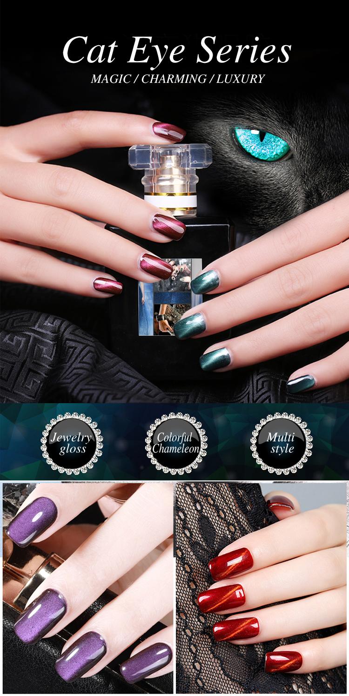 Chine meilleur vendeur Magnétique UV LED imbibent outre du Poli De Gel ongles art