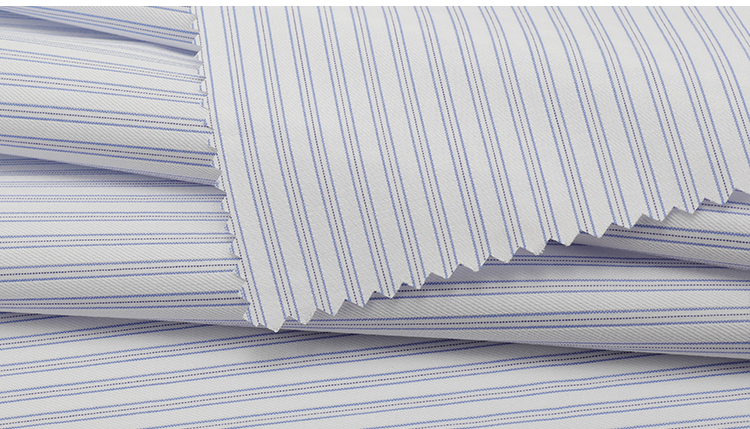 antistatic dacron egyptian cotton shirt fabric  cvc stock lot woven jacquard fabric