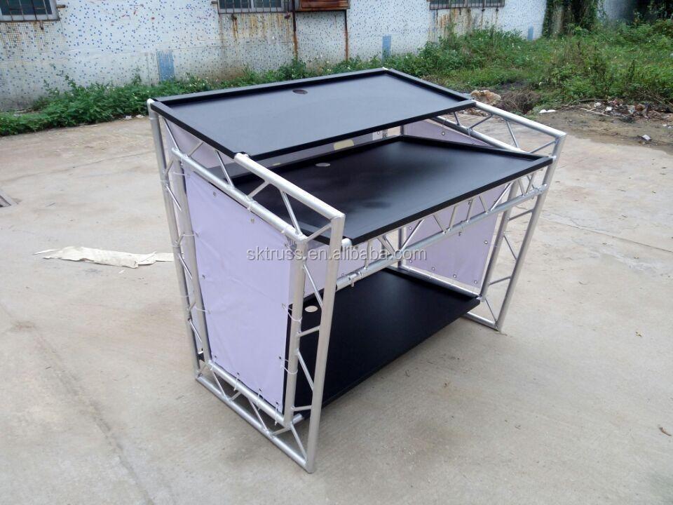 Guten Markt Beweglichen Aluminium Tisch F 252 R Dj Pult Dj